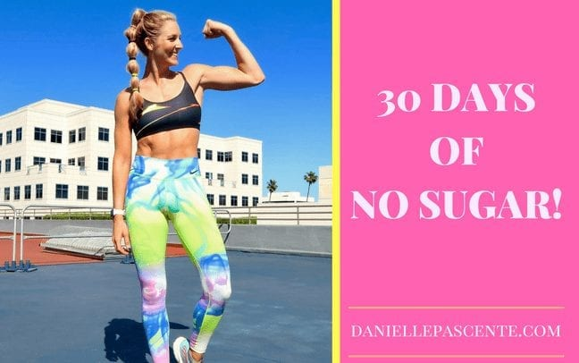I Went 30 Days With No Sugar & No Animal Protein.  Here's what happened…….