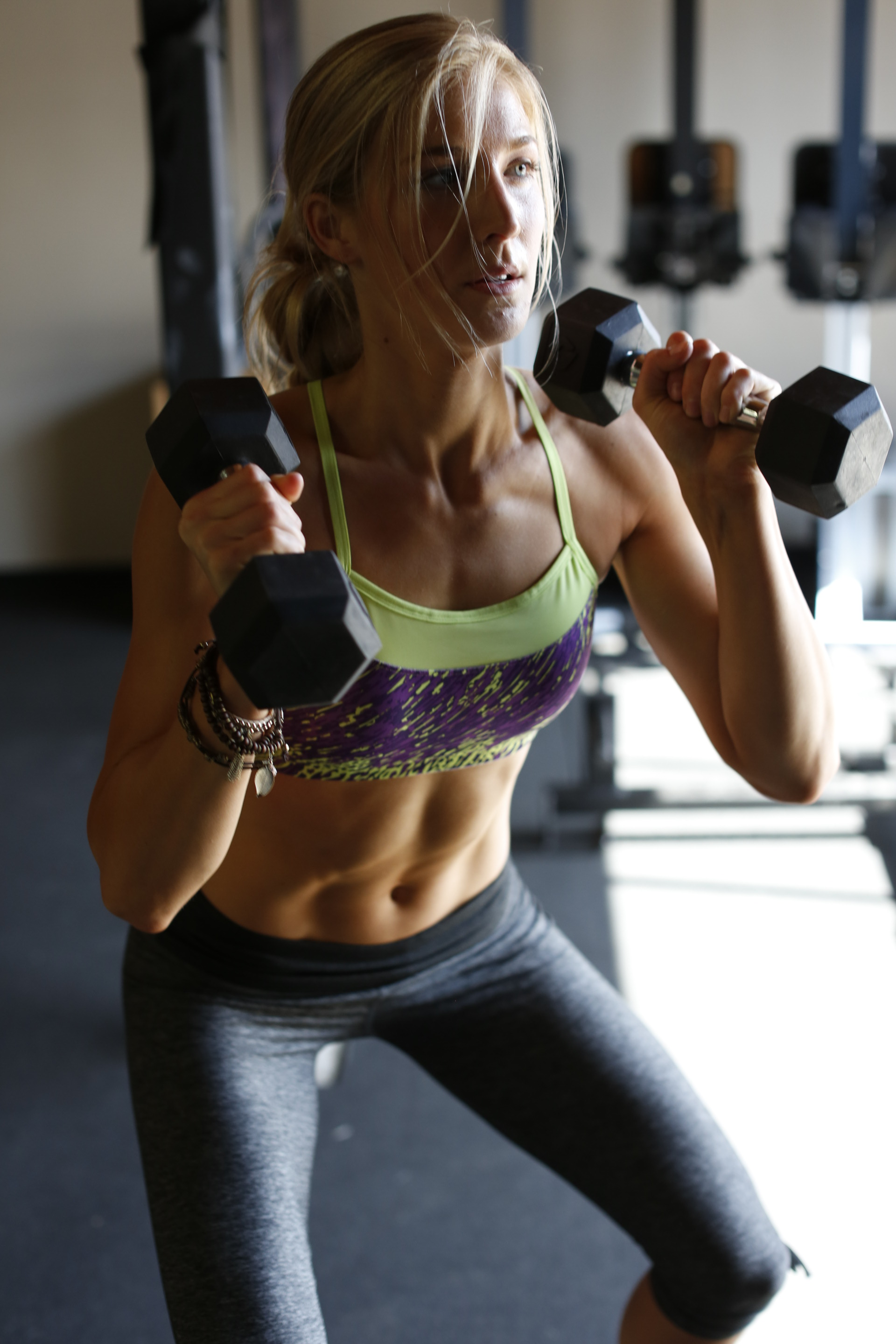 squat free weights