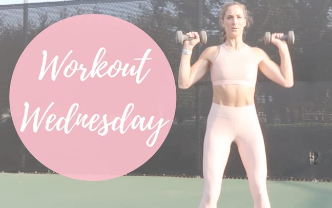 Workout Wednesday Upper Body Burn