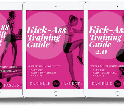Kick-Ass Training Package - Danielle Pascente | OFFICIAL SITE