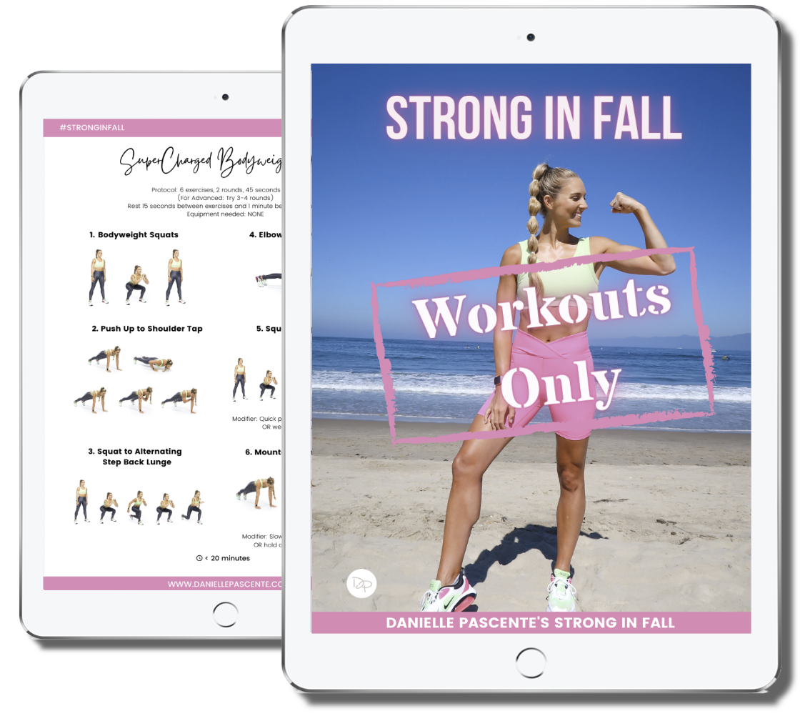 Strong In Fall Workouts Only